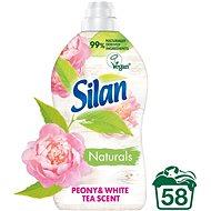 SILAN Naturals Peony & White Tea Scent 1,45 l (58 praní) - Ekologická aviváž