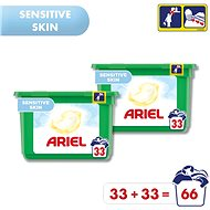 ARIEL All in 1 Pods Sensitive 2× 33 ks - Kapsuly na pranie