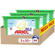 ARIEL All in 1 Pods Sensitive 3× 33 ks - Kapsuly na pranie
