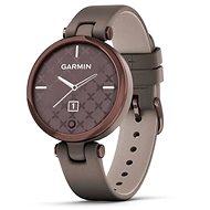 Garmin Lily Classic Dark Bronze/Paloma Leather Band - Smart hodinky