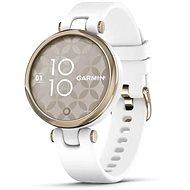 Garmin Lily Sport Cream Gold/White Silicone Band - Smart hodinky