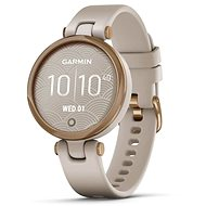Garmin Lily Sport Rose Gold/Light Sand Silicone Band - Smart hodinky