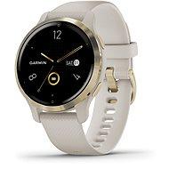 Garmin Venu 2S Light Gold/Sand Band - Smartwatch