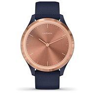 Garmin vívomove 3S Logo, RoseGold Blue - Smartwatch