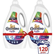 COCCOLINO Care Color 2× 2,4 l (120 praní)