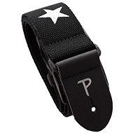 PERRIS LEATHERS 6845 Cotton Star Black - Popruh na gitaru