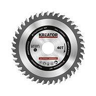 Kreator KRT020435 - Pílový kotúč na drevo