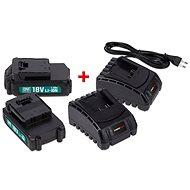 POWERPLUS POWEB9090 - Nabíjačka a náhradná batéria