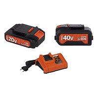 POWERPLUS Set akumulátorov a nabíjačky radu DualPower - Súprava