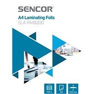 SENCOR A4/200 lesklá – balenie 100 ks - Laminovacia fólia