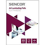 SENCOR  SLA FA4B250 A4 250 mic – balenie 100 ks - Laminovacia fólia