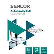 SENCOR SLA FA4M150 A4 150 mic –  balenie 25 ks - Laminovacia fólia