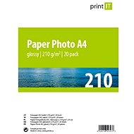 PRINT IT Paper Photo Glossy A4 20 listov - Fotopapier