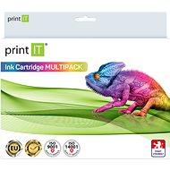 PRINT IT Multipack PGI-550XL + CLI-551XL 3× Bk/PBK/C/M/Y pre tlačiarne Canon - Alternatívny atrament