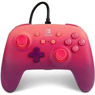 PowerA Enhanced Wired Controller Fuchsia Fantasy, Nintendo Switch