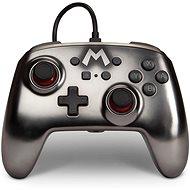 PowerA Enhanced Wired Controller Mario Metallic, Nintendo Switch