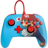 PowerA Enhanced Wired Controller Mario Punch, Nintendo Switch