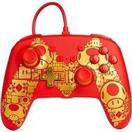 PowerA Enhanced Wired Controller Golden Mario, Nintendo Switch - Gamepad