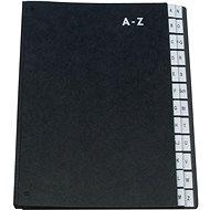 Q-CONNECT A4, černá, A-Z - Triediaca kniha
