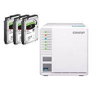 QNAP TS-328 + 3× 2 TB HDD RAID5 - Dátové úložisko