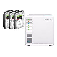 QNAP TS-328 + 3× 3 TB HDD RAID5
