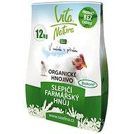 RAŠELINA SOBĚSLAV Vita Natura Farmárský hnoj slepačí 12 kg - Hnojivo