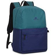 """RIVA CASE 5560 15,6"""" zeleno/modrý - Batoh na notebook"""