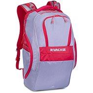 """RIVA CASE 5265 17,3"""" sivo/červený - Batoh na notebook"""