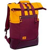 """Batoh na notebook RIVA CASE 5321 15,6"""" žltý/vínovo červený"""