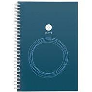 ROCKETBOOK Wawe Executive modrý - Poznámkový blok