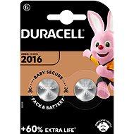 Duracell CR2016 2 ks - Gombíkové batérie