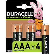 Duracell StayCharged AAA –  850 mAh 4 ks - Nabíjateľná batéria