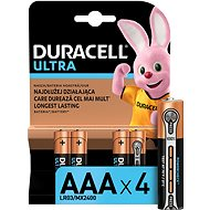 Duracell Ultra AAA 4 ks - Jednorazová batéria