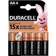 Duracell Basic AA 6 ks - Jednorázová batéria