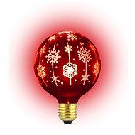 RETLUX RXL 368 - Žiarovka vianočná, G95 E27, červená - Vianočné osvetlenie