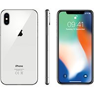 iPhone X 256 GB Strieborný - Mobilný telefón