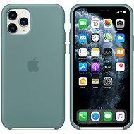 Apple iPhone 11 Pro Silikónový kryt kaktusovo zelený - Kryt na mobil