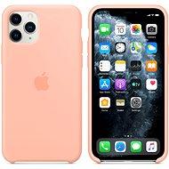 Apple iPhone 11 Pro Silikónový kryt grepovo ružový - Kryt na mobil