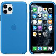 Apple iPhone 11 Pro Silikónový kryt príbojovo modrý - Kryt na mobil