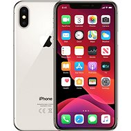 Refurbished iPhone X 64GB, Silver - Mobile Phone