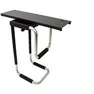 OEM Držiak PC pod dosku stola, otočný, čierny, do 30 kg - Držiak na PC