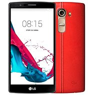 LG G4 (H815) Leather Ferrari Red - Mobilný telefón