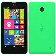 Nokia Lumia 630 Bright Green Dual SIM + čierny zadný kryt - Mobilný telefón