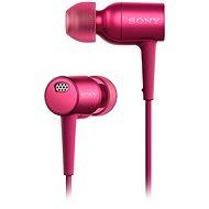 Sony Hi-Res MDR-EX750 ružová - Slúchadlá
