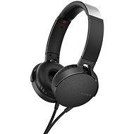 Sony MDR-XB550AP čierna - Slúchadlá s mikrofónom