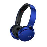 Sony MDR-XB650BT modrá - Slúchadlá