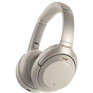 Sony Hi-Res WH-1000XM3, platinovo strieborné - Slúchadlá
