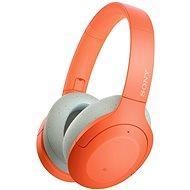 Sony Hi-Res WH-H910N, oranžovo-sivé