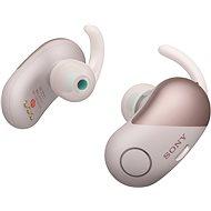 Sony WF-SP700N ružové - Bezdrôtové slúchadlá
