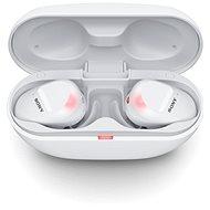 Sony True Wireless WF-SP800N, biele - Bezdrôtové slúchadlá